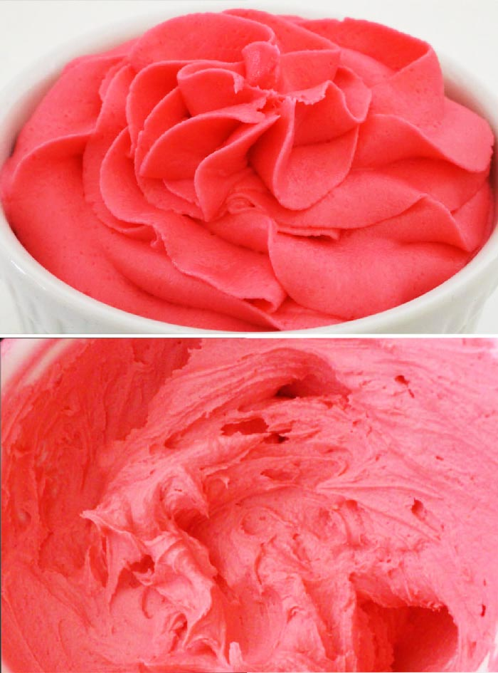 Bright Pink Frosting Recipe