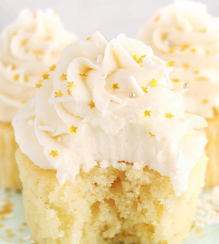 Moist-Vanilla-Cupcake